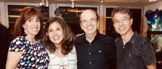 Carla Mourão, Ely Yutaka, Enock Sacramento e Caludio Takita