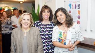 Rachel Helene, Carla Mourão e Ely Yutaka