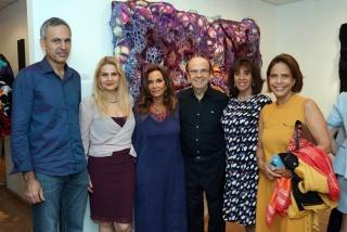 Lebos Chaguri, Marcia Kozlowski, Regina Helene, Enock Sacramento, Carla Mourão e Sheila