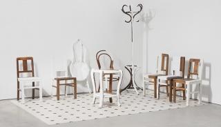 Imagen del taller Y vosotr@s, ¿cómo esperáis?. Crédito: Ana Vieira, Sala de espera. Os móveis a afirmarem a sua inutilidade, 2014