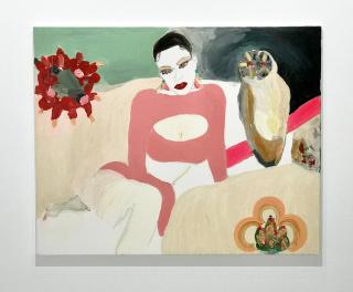 Alona Harpaz, Candy Kim, 2020, 80 x 100 cm. — Cortesía de Galería ATC