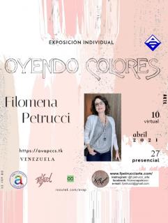 Invitación y Presentación de la Exposición Individual