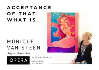 pop surrealist art exhibition of paintings Barcelona