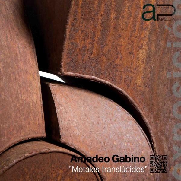 Cartel Exposición Amadeo Gabino