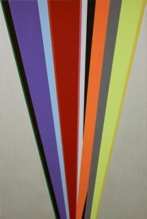 Mitsuo Miura, Memorias Imaginadas, 2012. Acrílico sobre lienzo, 195 x 130 cm.
