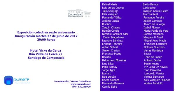 Exposicion colectiva sumarte proyecto expositivo
