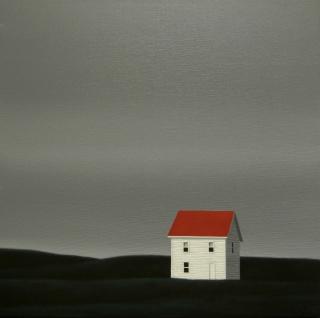 Mónica Dixon. Lindenwood . Acrylic on canvas. 50 x 50 cm. Cortesía de Guillermina Caicoya