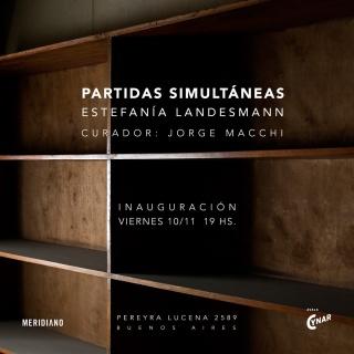 PARTIDAS SIMULTÁNEAS. Imagen cortesía PASTO Galería
