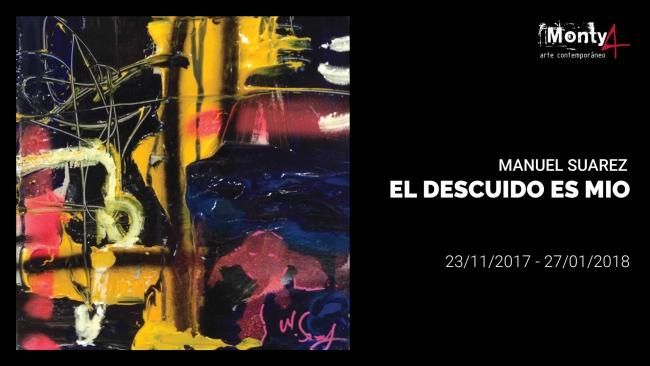 Manuel Suarez, técnica mixta sobre lienzo, 130x97 cm.  – Cortesía de Monty4 Arte Contemporáneo