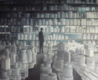 San Claudio, in Memoriam 1901-2009. Una reflexión artística en torno al patrimonio industrial – Cortesía del Museo Arqueológico de Asturias