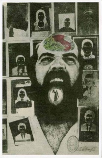 Paolo Bruscky, Pelos nossos desaparecidos (for our missing ones), 1977, Offset 29 20.5 cm. Copyright the Artist Courtesy of Richard Saltoun Gallery, London