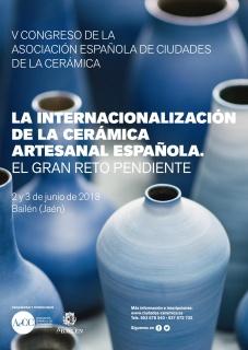 V Congreso de la AeCC. La Internacionalización de la Cerámica Artesanal Española: El Gran Reto pendiente