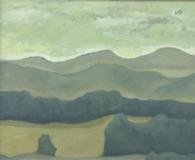 Virxilio. ST. 80 x 60. Acrílico sobre tabla — Cortesía de la galería José Lorenzo