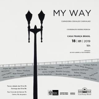 convite da exposição