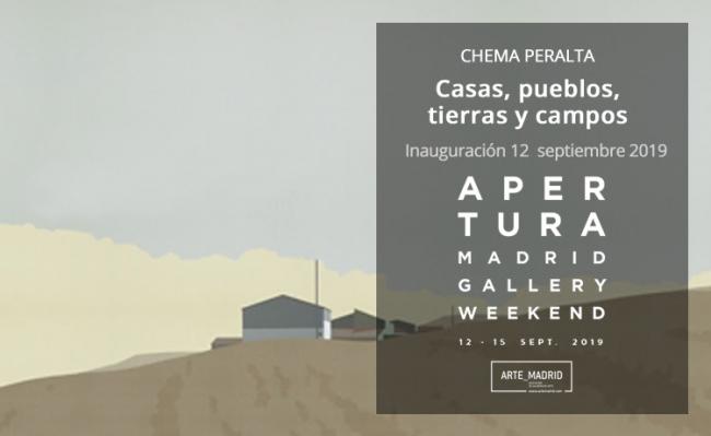 Chema Peralta. Casas, pueblos, tierras y campos