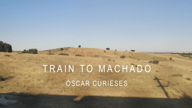 Óscar Curieses. Train to Machado