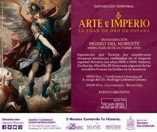 Arte e Imperio. La edad de oro de España
