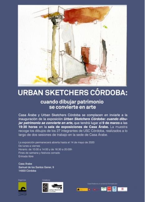 Urban Sketchers Córdoba: Cuando dibujar patrimonio se convierte en arte