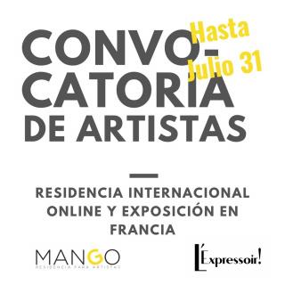 Programa RIO III (Residencia Internacional Online) - con exposición en Francia
