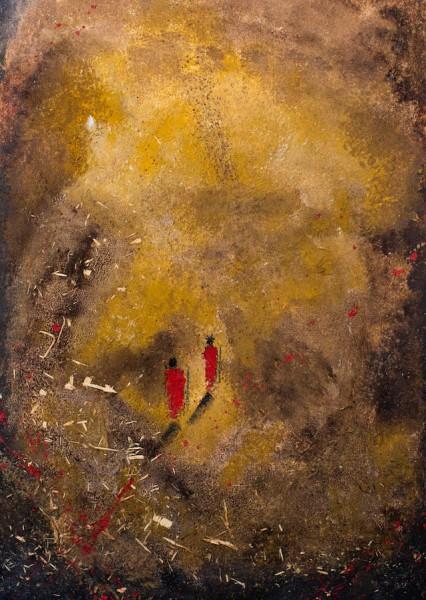Marcos Tamargo, Baobab II, 70x50 cm.