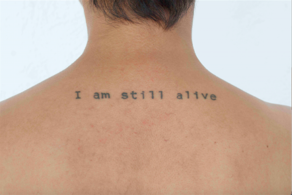 Melissa Guevara, I Am Still Alive 2, 2015. C-Print