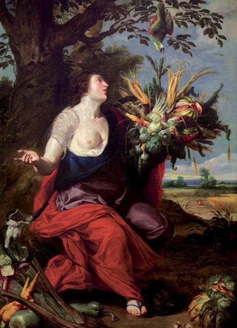Juana van der Hamen, Alegoría del Verano
