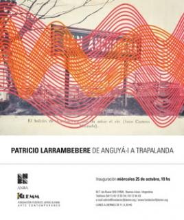 PATRICIO LARRAMBEBERE. Imagen cortesía Tienda Inmaterial