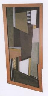 MARTÍN BLASZKO. Estructura o luces blancos o blanco y verde, 1947