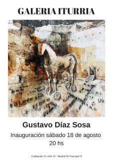Gustavo Díaz Sosa. Imagen cortesía Galería Iturria Cadaqués