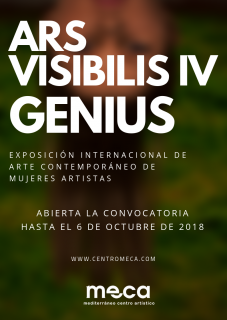 Ars Visibilis IV. Genius 2018