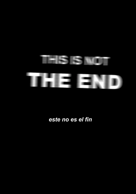 This is not the end. Ignasi Alballí