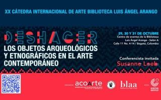 Deshacer los objetos arqueológicos y etnográficos en el arte contemporáneo. Imagen cortesía Banco de la República Colombia