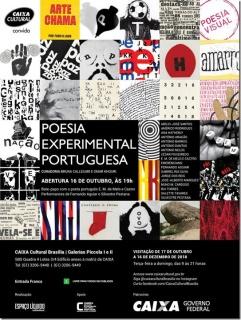 Poesia Experimental Portuguesa. Imagen cortesía Caixa Cultural
