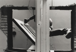 Gordon Matta-Clark, Bronx Floor: Threshole, 1972. © The Estate of Gordon Matta-Clark / Artists Rights Society (ARS), New York. Courtesy The Estate of Gordon Matta-Clark and David Zwirner.