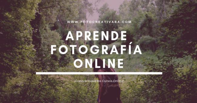 Aprende Fotografía desde tu casa