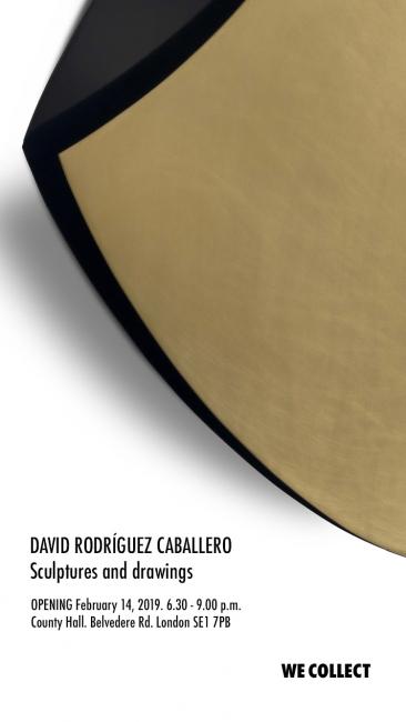 David Rodríguez Caballero. Sculptures and drawings