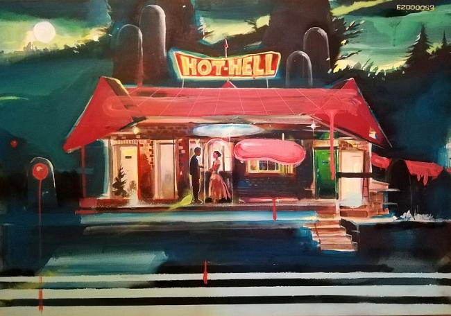arcade painting n16 Zunino Eldevenir