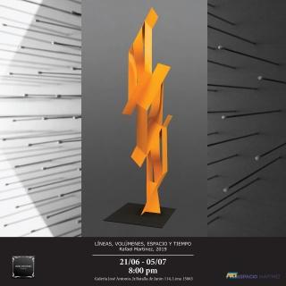 Cinetismo y geometria en la obra de Rafael Martínez