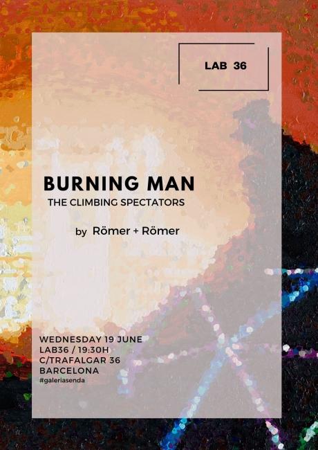 Römer + Römer. Burning Man. The climbing spectators