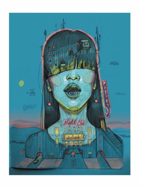 Neon City, de Aurora Rumí