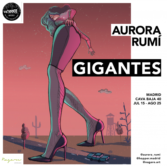 GIGANTES, de Aurora Rumí