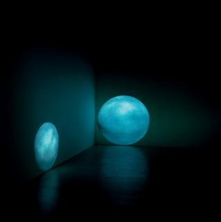 """Regina Silveira, """"Lunar"""", 2002/2003  — Cortesía de Luciana Brito Galeria"""