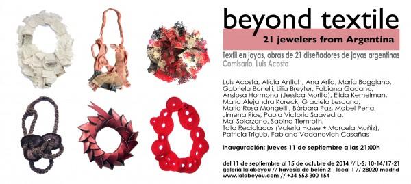 Beyond Textile