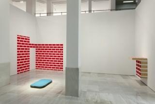 Pello Irazu, Instalación El muro incierto. Sala Alcalá 31. ©Paco Gómez / NOPHOTO