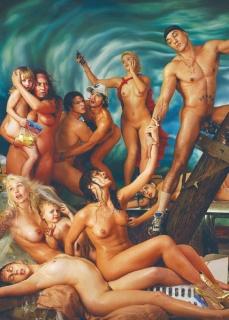 David LaChapelle, Deluge, 2006. Fotografía. Detalle obra