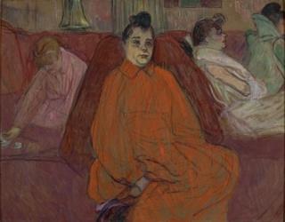 Henri de Toulouse-Lautrec O divã [The Divan], circa 1893, Compra [Purchase], 1958