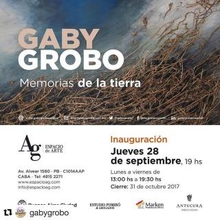GABY GROBO. MEMORIAS DE LA TIERRA