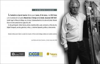 Contextualización de la obra del pintor Manolo Ruiz en el arte canario de los siglos XX y XXI