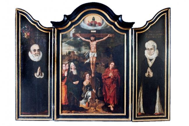 Tríptico de San Juan de Elejabarri — Cortesía del Museo Vasco de Bilbao