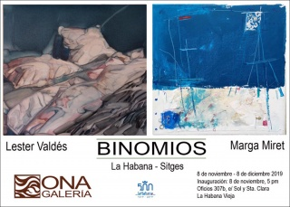 Binomios - Inside Outside: Lester Valdés - Marga Miret